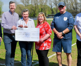Local Charities Benefit From Club Collection