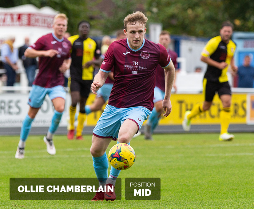 Featured Player Ollie Chamberlain