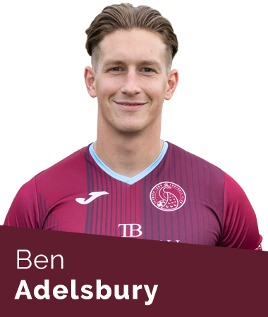 Ben Adelsbury Taunton Town First Team