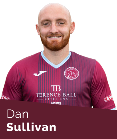 Dan Sullivan Taunton Town First Team
