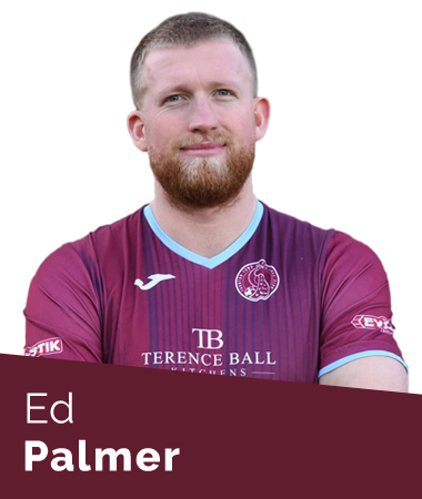 Ed Palmer Taunton Town First Team