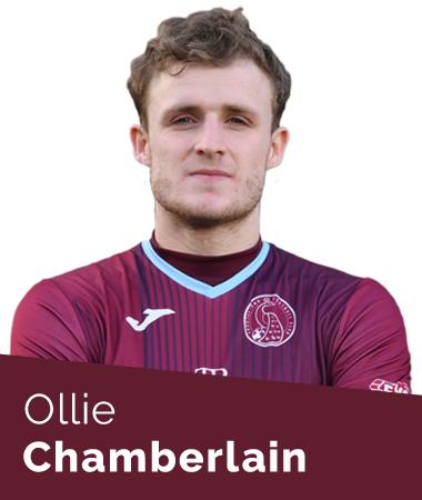 Ollie Chamberlain - Taunton Town First Team