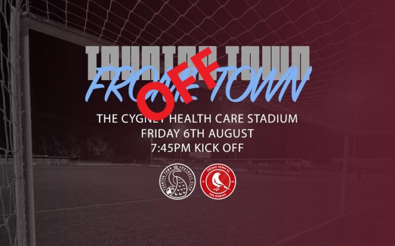 Frome Friendly Called Off